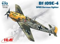 Bf-109E-4 WWII German fighter - Image 1