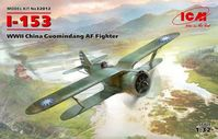 Polikarpov I-153 WWII China Guomindang Air Force Fighter