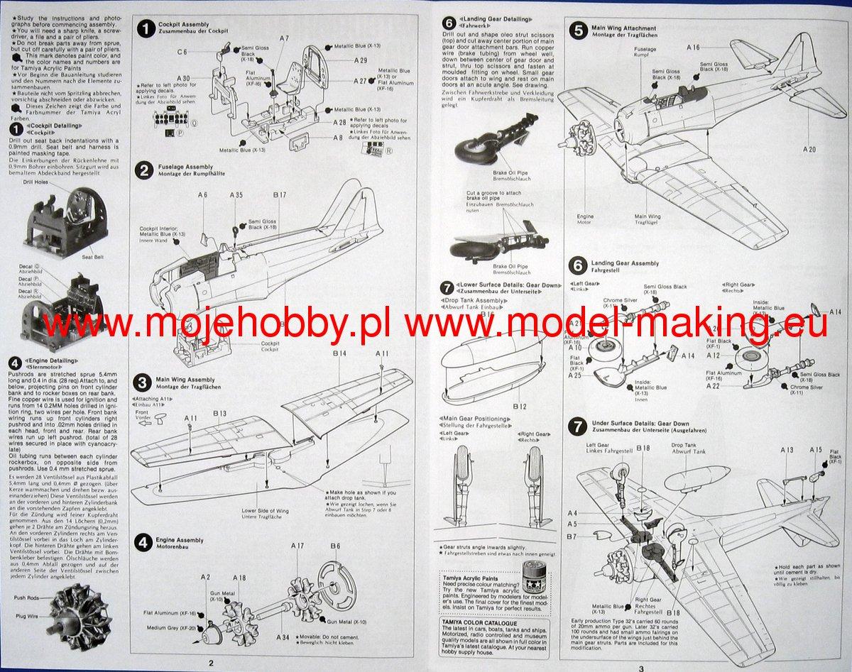 Tamiya America 1//48 A6M3 Type 32 Zero Fighter Plastic Model 61025 TAM61025 TAM
