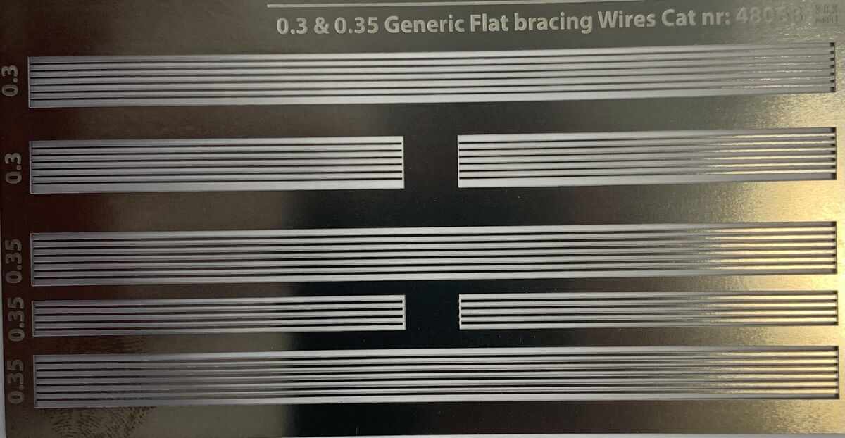 0.3 & 0.35 Generic Flat bracing Wires Cat - Image 1