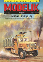 M35A2 2(1/2)T(6x6) AMERICAN CONTEMPORARY ARMY TRUCK