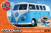 VW Camper Blue (Quickbuild) - Image 1