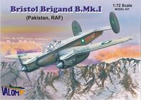 Bristol Brigand B.Mk.I (Pakistan, RAF) British light and fast bomber