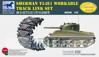 Sherman T54E1 Workable Track Link Set - Image 1