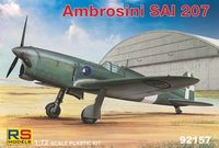 Italian fighter Ambrosini SAI.207