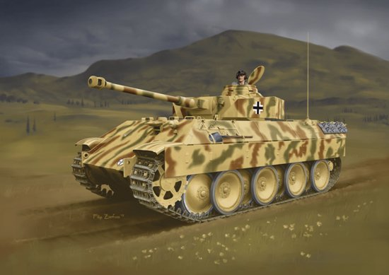 Bergepanther mit PzKpfw - Image 1
