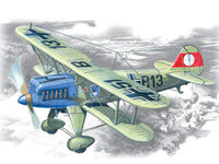 Heinkel He 51A-1 German Fighter Biplane