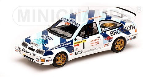 Ford Sierra RS Cosworth #1 Ayrton Senna Rally Test 1986 - Image 1