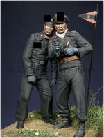 Early WW2 Panzer Crew Set (2 figs)