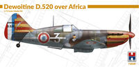 Dewoitine D.520 over Africa