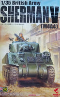 35-016 1/35 British Army Sherman V (M4A4) - Image 1