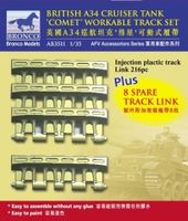 A34 Comet Workable Track Set