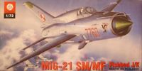 Mikoyan Guryewitz Mig-21 SM/MF Fishbed J/K (Polish Air Force) - Image 1