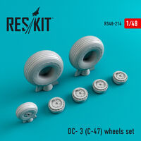 DC- 3 (C-47) wheels set - Image 1