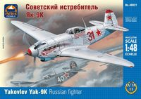 Yakovlev Yak-9K Russian fighter