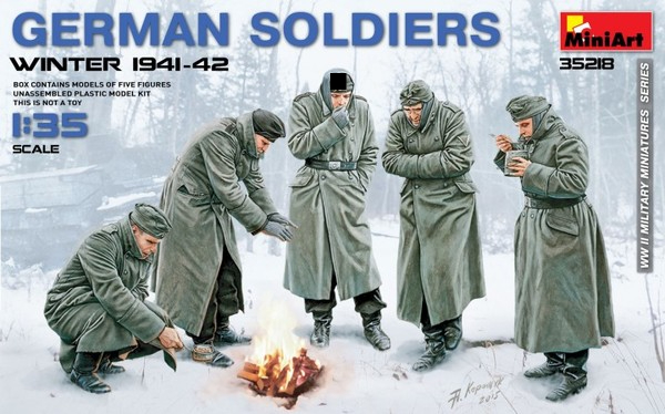 GERMAN SOLDIERS (WINTER 1941-42) - Image 1