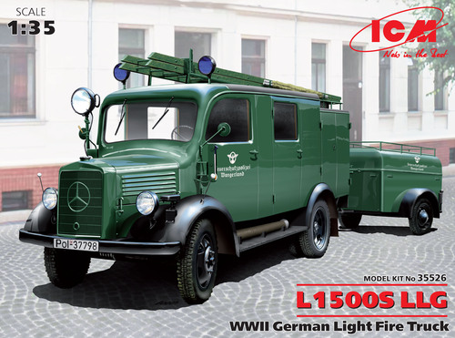 L1500S LLG WWII German Light Fire Truck - Image 1
