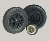 Resin wheels to Messerschmitt Bf 109B, C, D, E, F, T - Image 1