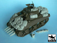 US Sherman accessories set for Tamiya 32505, 36 resin parts - Image 1