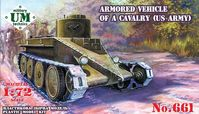 "Armored vehicle of a cavalry ""Combat cars T1 "" (US Army)"