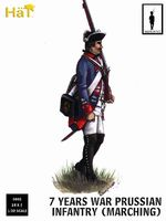 7 Years War Prussian infantry (marching) - Image 1