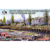 "Armored Train of the 48th Armored Division No.1 ""Death to the German invaders"""