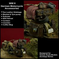 WWII German Motorcycle Accessories